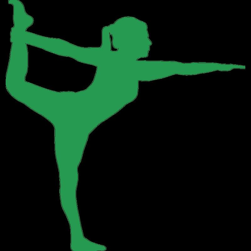Yoga Position Dandayamana Dhanurasana Frau