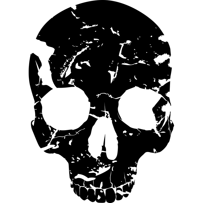 Piratenflagge Totenschädel Skull