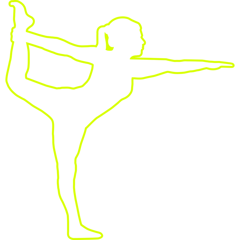 Yoga Position Stehender Bogen Frau
