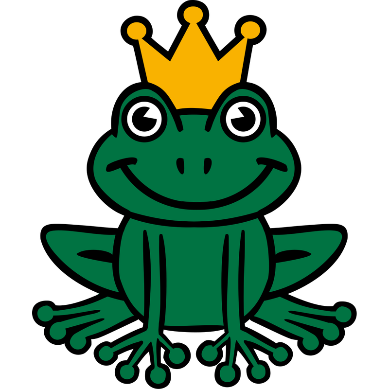 Froschkönig Frosch