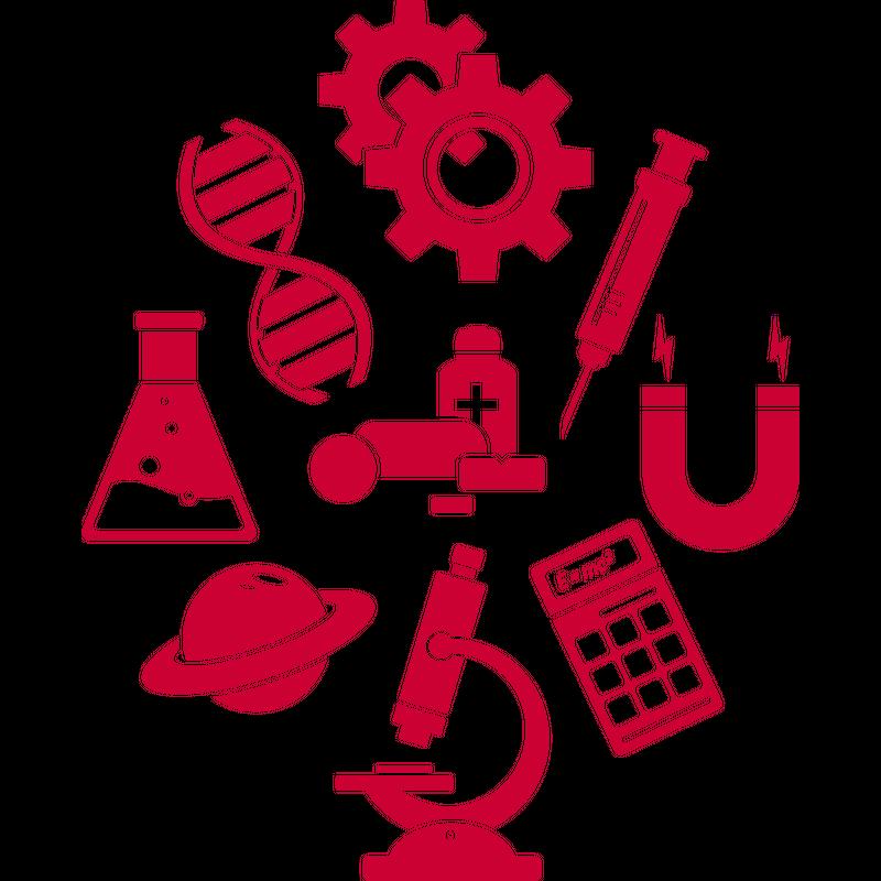 Wissenschaften Icons Science