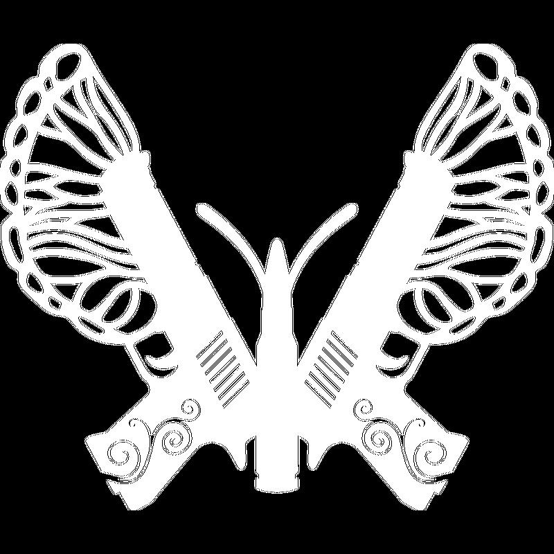 Schmetterling Pistole