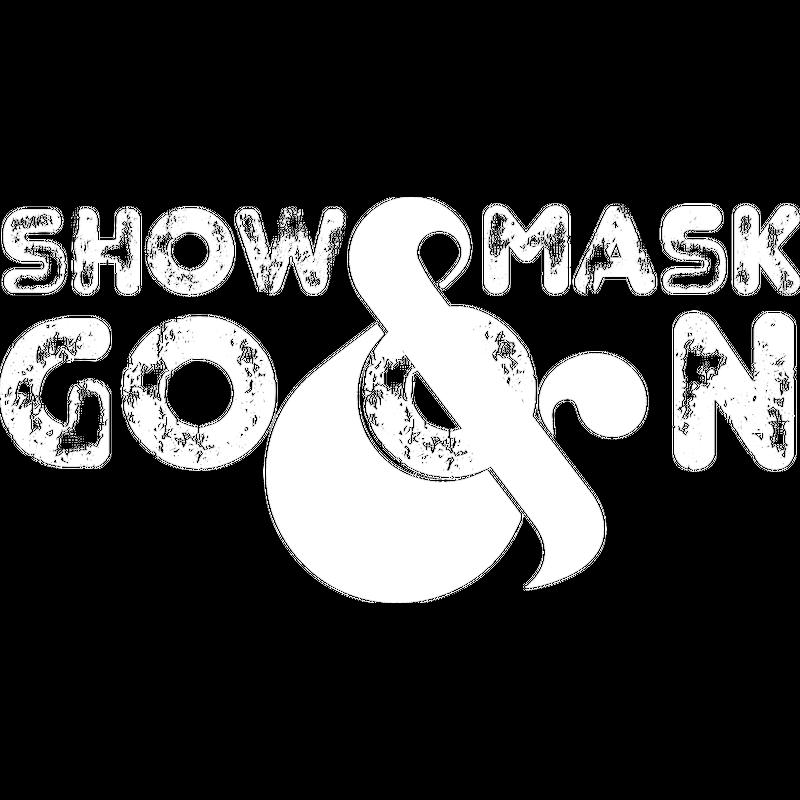 ShowMask&GoOn Weiß