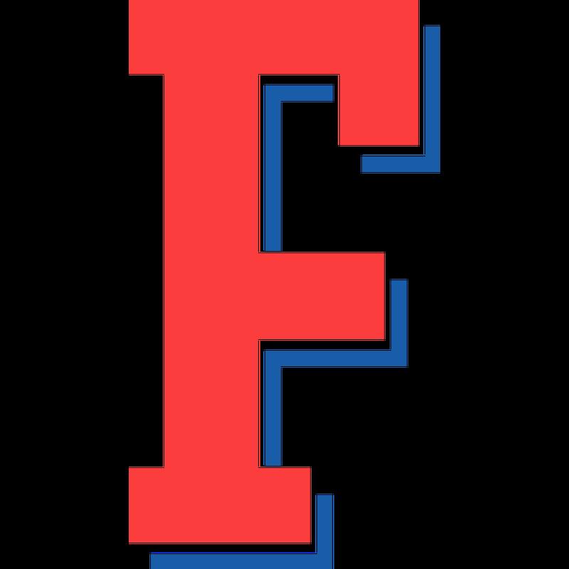 College Buchstabe F Type