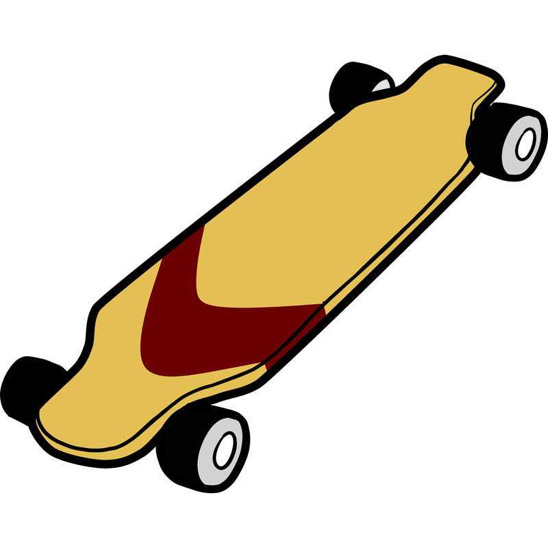 Ein schönes Longboard