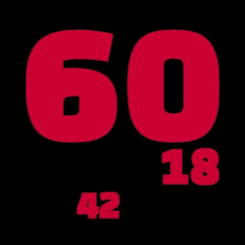 60. Geburtstag Sechzigster