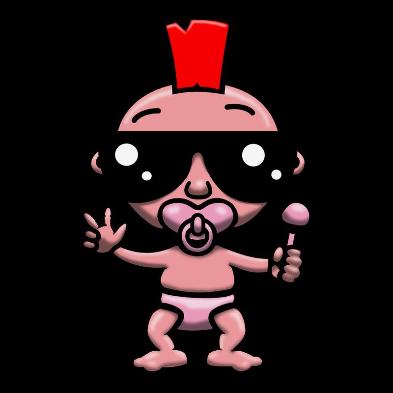 Punk Baby (Pink)