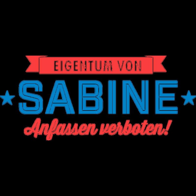 Eigentum von Sabine