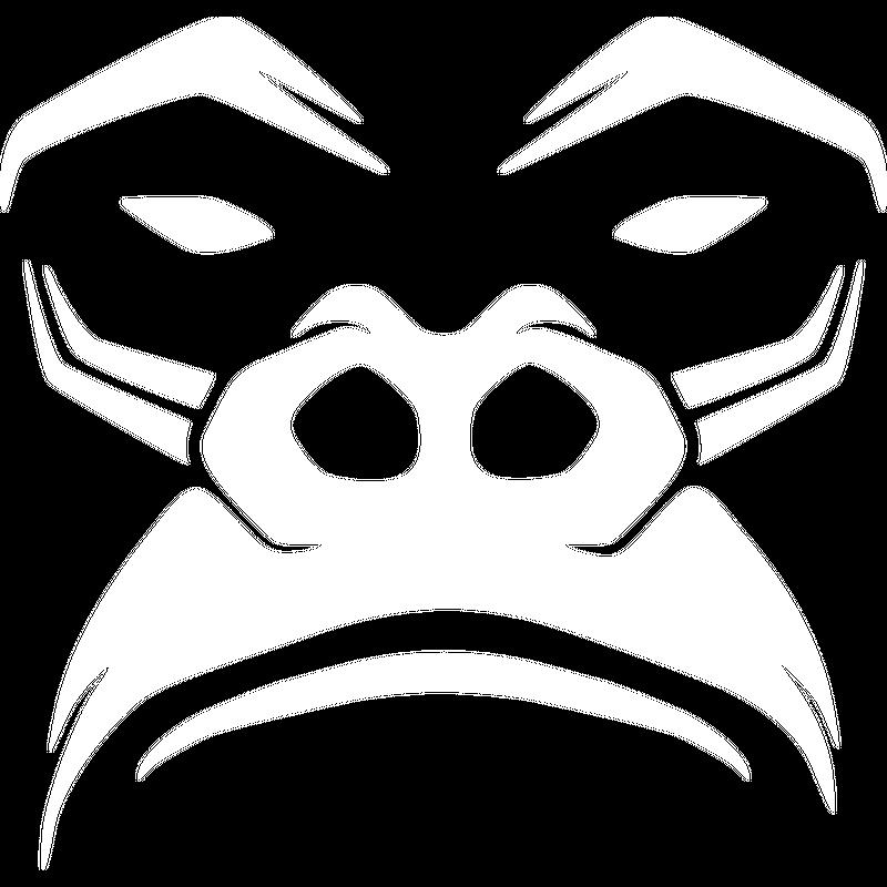 Mürrischer Gorilla