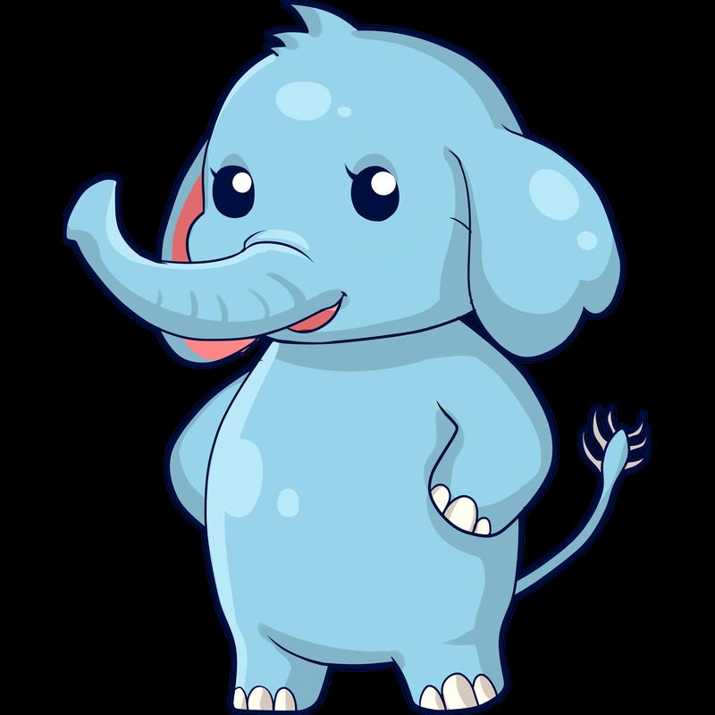 Süsser Elefant