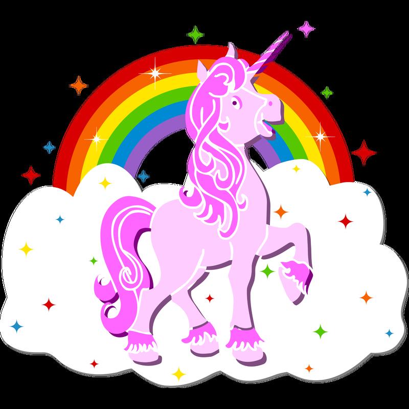 Einhorn Unicorn Regenbogen