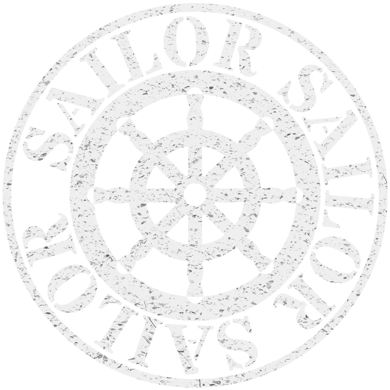 Vintage Sailor Steuerrad hell