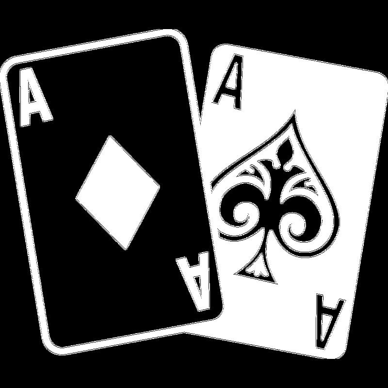 Poker Karten - Zwei Asse