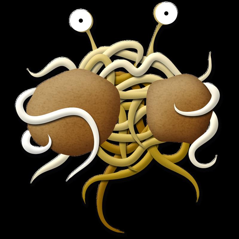 Fliegendes Spaghettimonster