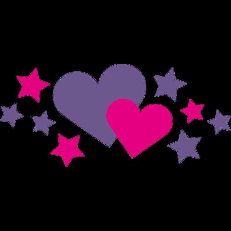 Herzen - Sterne