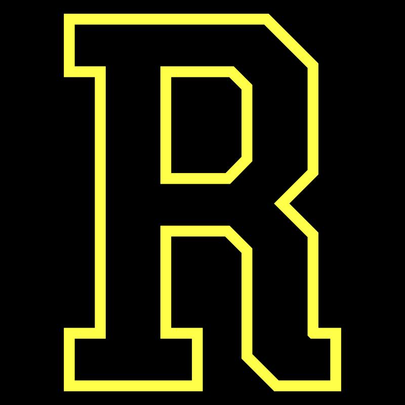 Buchstabe R - College Style