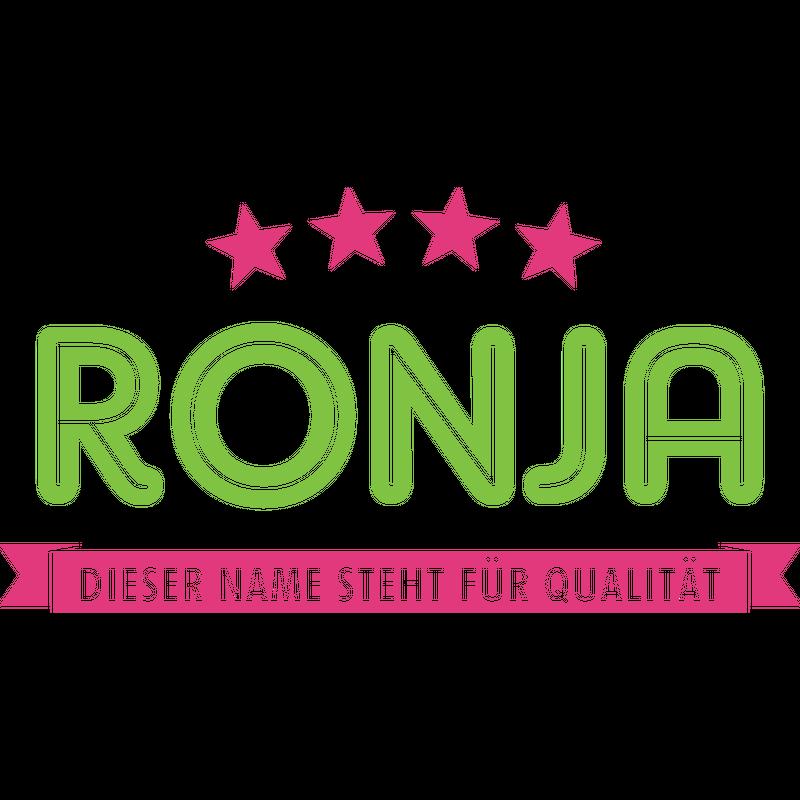 Ronja steht für Qualität