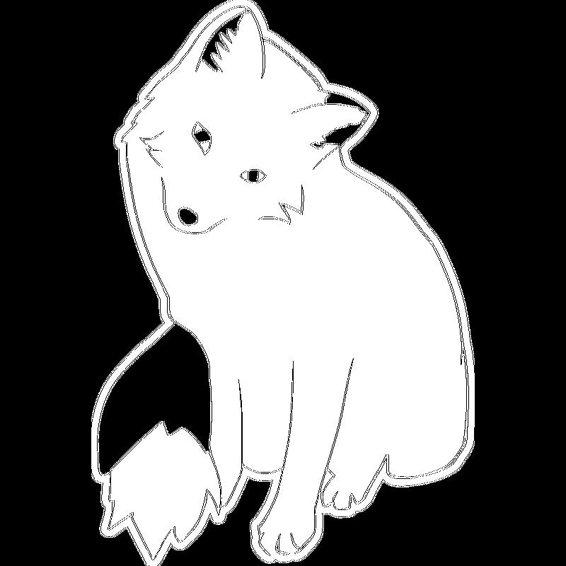 Fuchs mit großen Augen