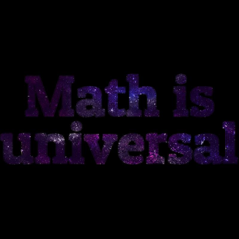 Math is Universal