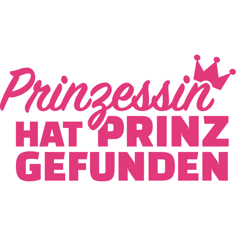 Prinzessin hat Prinz gefunden