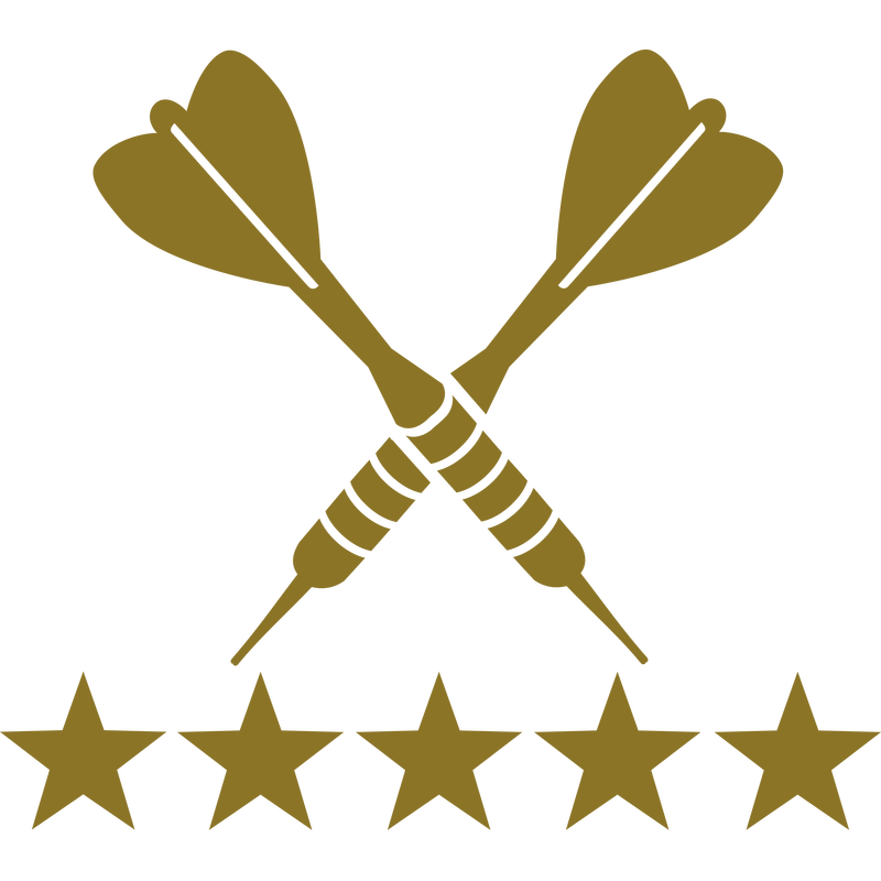 Darts 5 Sterne