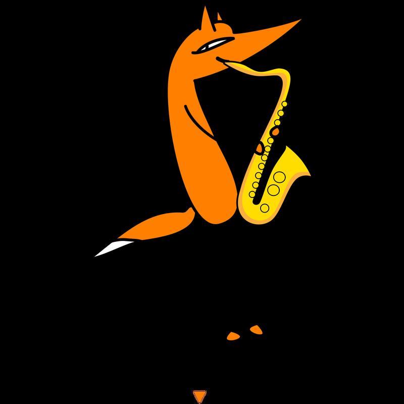 Fuchs und Saxophon