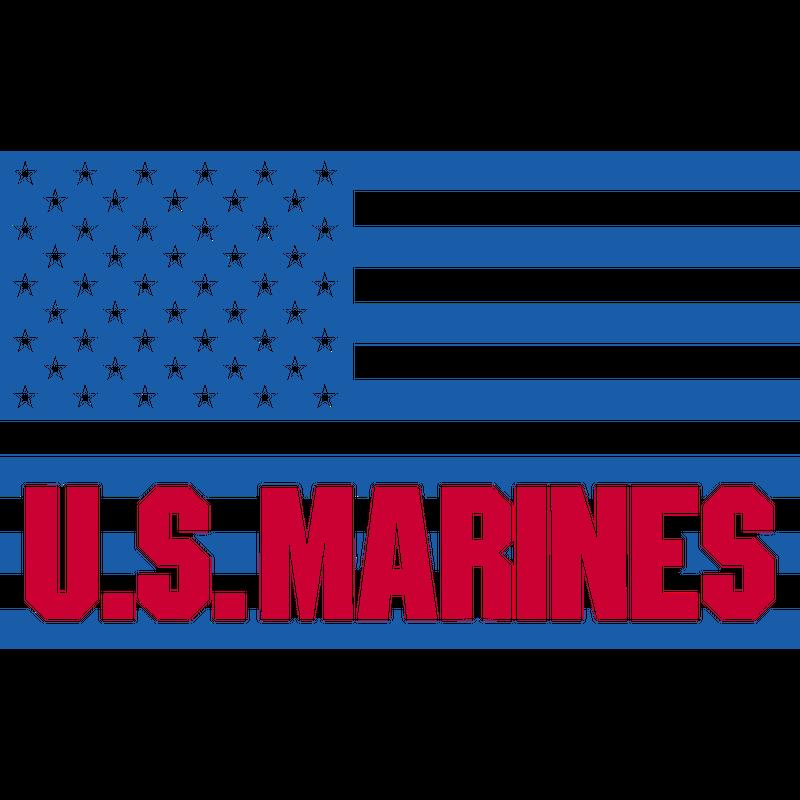 US Flagge U.S. Marines, Mision Militar ™