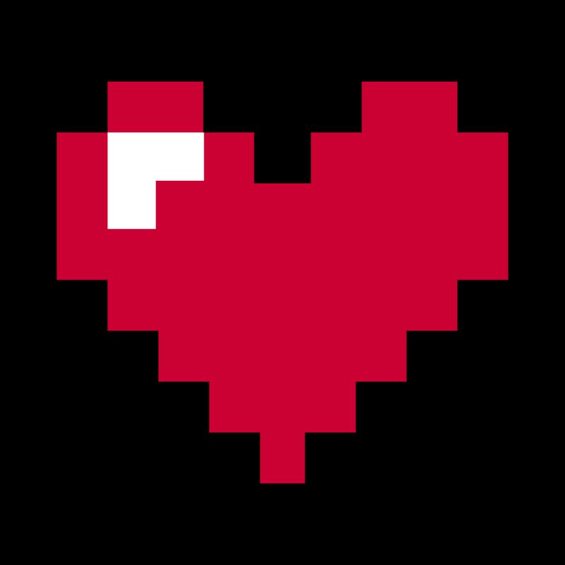 Pixel Heart Herz