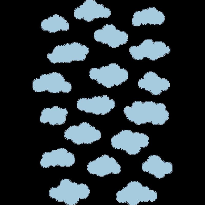 Wolken Himmel Muster