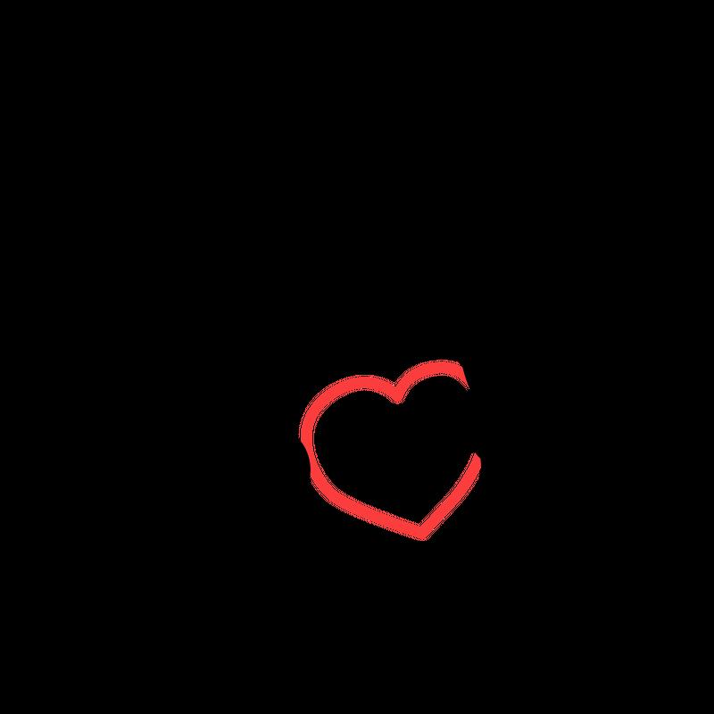 Häschen mit Herz