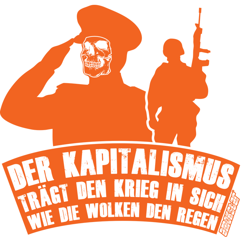 Der Kapitalismus trägt den Krieg in sich, Amokstar