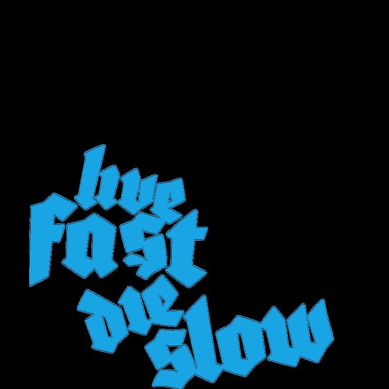 Live fast die slow - Skull