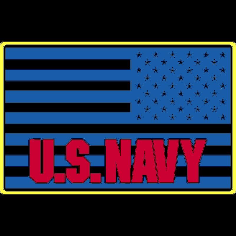 US Flagge Adler U.S. Navy, Mision Militar ™