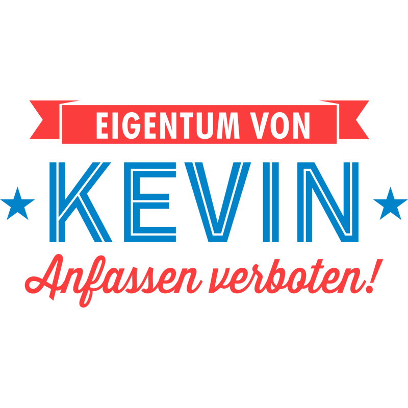 Eigentum von Kevin