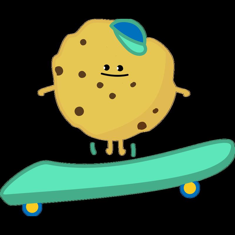 Cookie Skater Skateboard