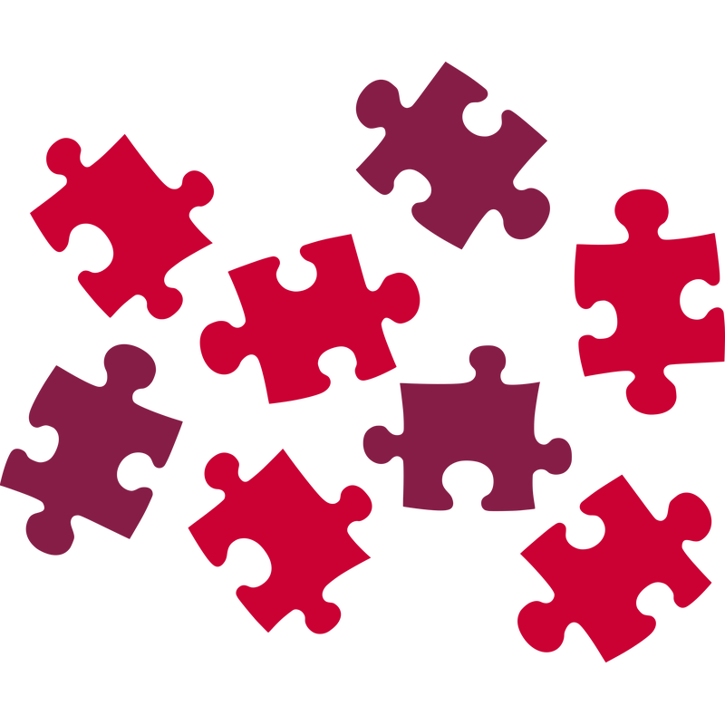 Puzzle Puzzleteile