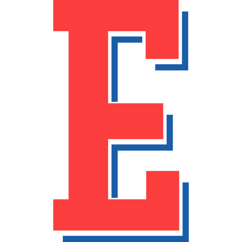 College Buchstabe E Type