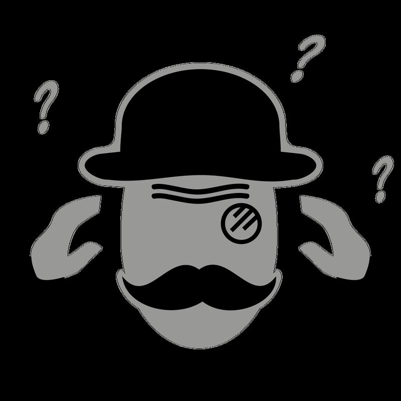 Sir mit Moustache