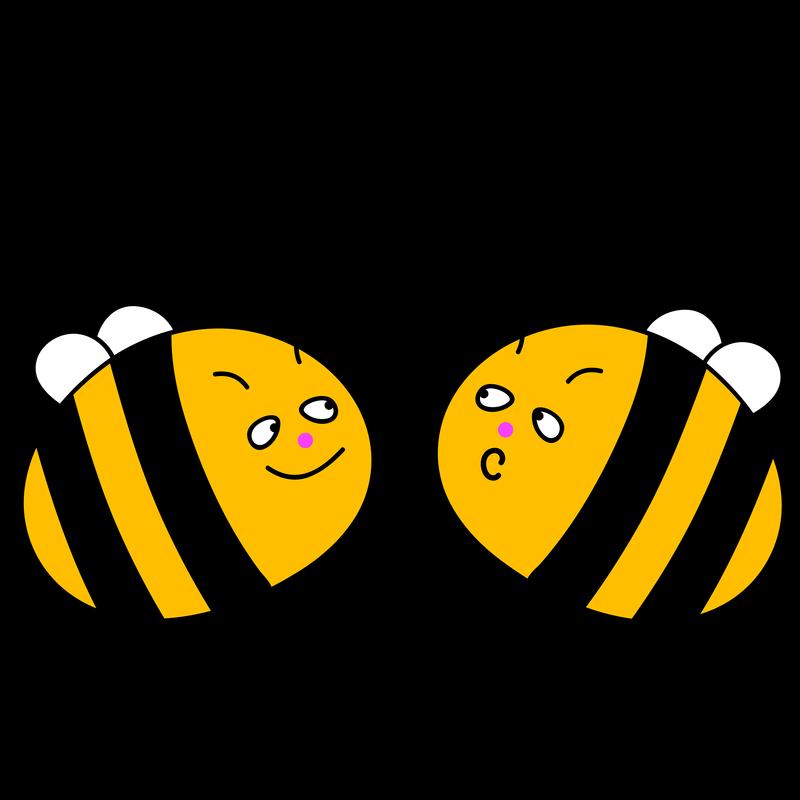 Lustige Bienen rechnen