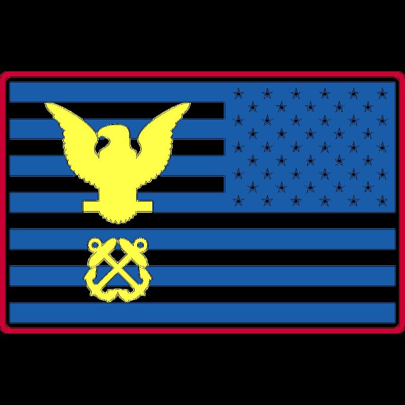 US Flagge Adler US Navy, Mision Militar ™