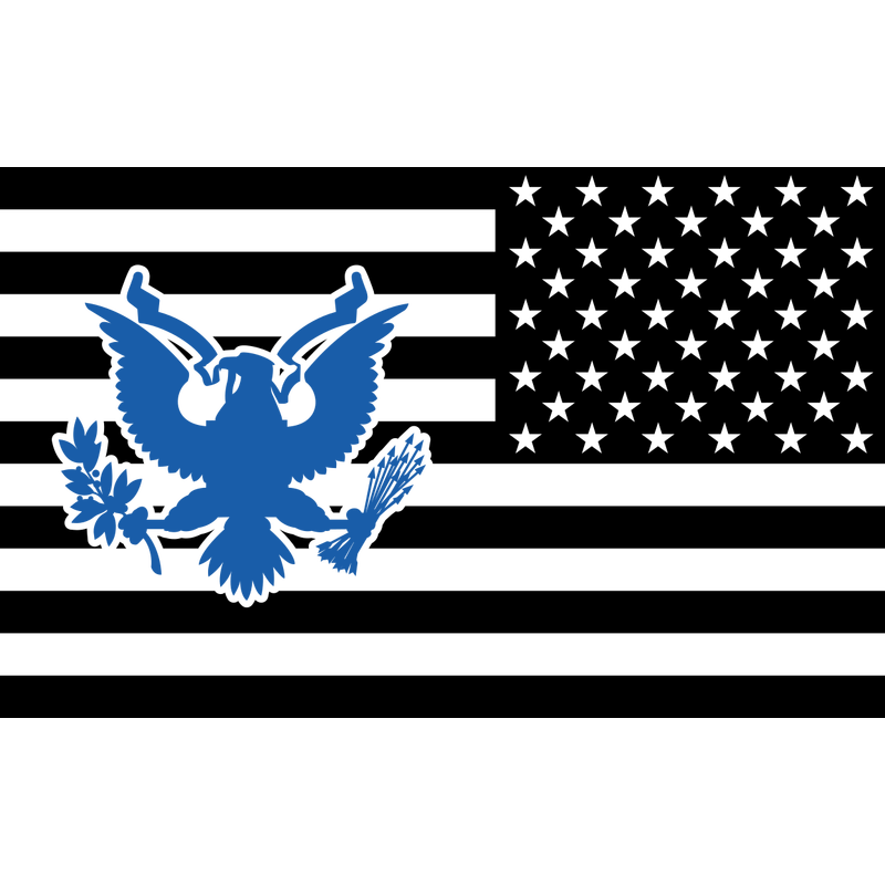 US Flagge Adler US Army, Mision Militar ™