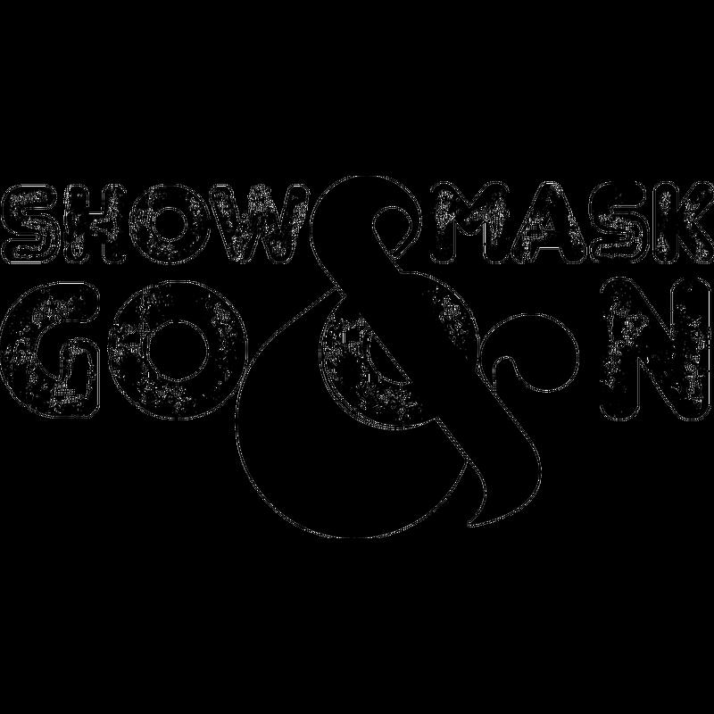 ShowMask&GoOn Schwarz