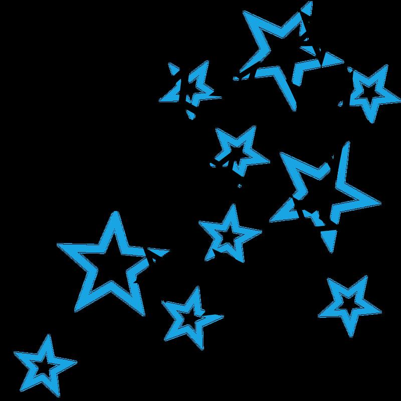 Sterne und Sternchen