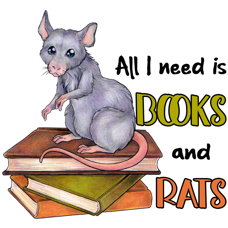 All I need is books and rats - Leseratten