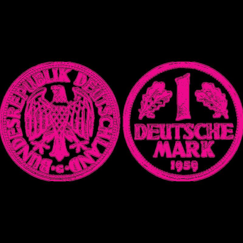 Eine Deutsche Mark 1959