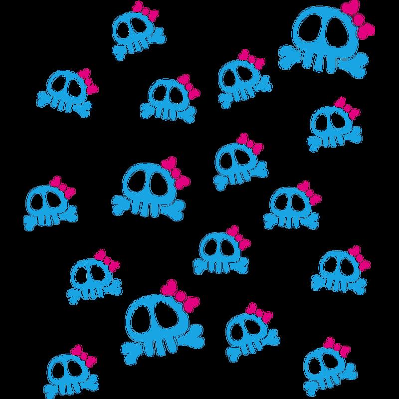 Skull Pattern - Totenkopf Muster
