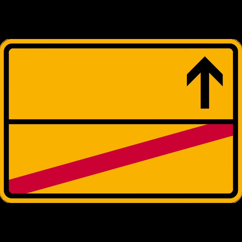 Ortsschild