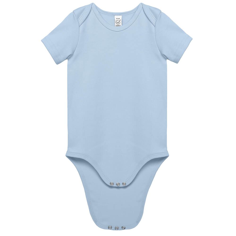 Baby Bio Kurzarm-Body - klimaneutral