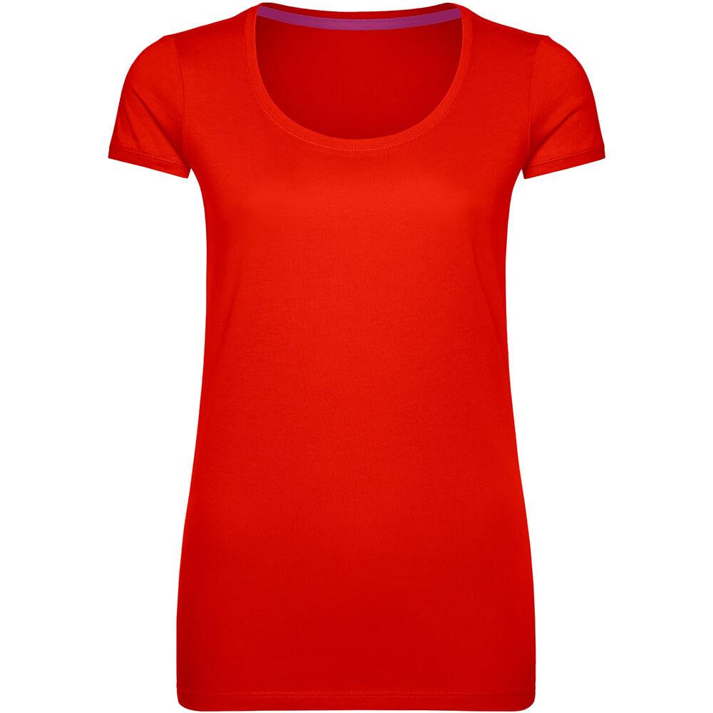 Frauen Megan Rundhals T-Shirt