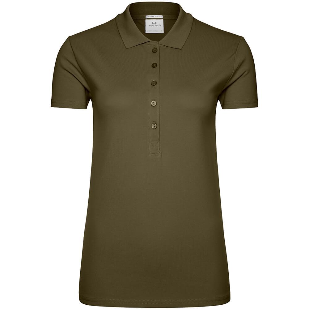 Frauen Luxury Stretch Poloshirt